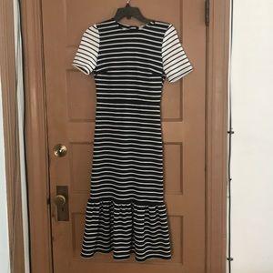 ASOS black n white dress! Only tried on